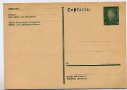 DR  P195I Postkarte 1931  Kat. 8,00 € - Stamped Stationery