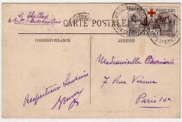 1919 - Yvert N° 156 Seul Sur CARTE POSTALE De VERSAILLES CONGRES De La PAIX Pour PARIS - RARE - 1877-1920: Période Semi Moderne
