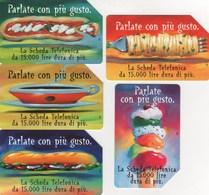 *ITALIA: PARLARE CON PIU´ GUSTO* - Serie Completa Usata - Alimentazioni