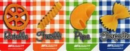 *ITALIA: W LA PASTA* - Serie Completa Usata - Alimentazioni