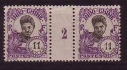 INDOCHINE - YVERT N° 110 ** - COTE = 50 EUROS - MILLESIME 1922 - Neufs