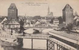 Dép. 67 - Strasbourg. - Les Ponts Couverts. Tramway. Ed. Ch Bergeret. N°100 - Straatsburg