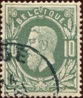 COB   30 A  (o)  / Yvert Et Tellier N° :    30 (o) - 1869-1883 Leopoldo II