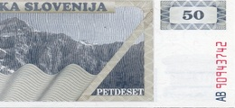 * SLOVENIA - 50 TOLARJEV 1990 UNC - P 5 - Slovenia