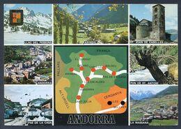 Valls D´Andorra. Ed. Escudo De Oro Nº 6087. Dorso Cedosa. Nueva. - Andorra
