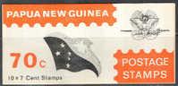 0801 Space Communication Ships 1972 Papua New Guinea Bklt MNH ** - Space