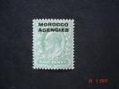 Morocco Agencies 1907 K.Edward VII  1/2d  SG 31 MNH - Morocco (1956-...)
