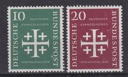 BUND  Xx  1956    MI  235-36   -  Postfrisch   -  VEDI FOTO  ! - [7] République Fédérale