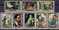 España 2203/2210 ** Pintura. Rosales. 1974 - 1931-Hoy: 2ª República - ... Juan Carlos I