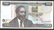 KENYA.  : 200 Schillings - 2005  - P49a - UNC - Kenya