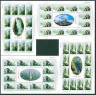 China 2002-19 Yandang Mountain Stamps Sheets Rock Lake Geese Waterfall - Blocks & Sheetlets