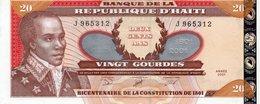Haiti, 20 Gourdes, 2001 P-271 (271A), UNC - Haiti