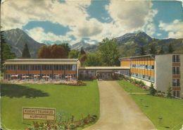 AK Oberstdorf Allgäu Kurmittelhaus Farbfoto ~1960 #0831 - Oberstdorf