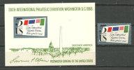 USA.  Expo Philatelique Internationale De  Washington 1966.   Un Bloc Feuillet  + 1  T-p Neufs  ** - Philatelic Exhibitions