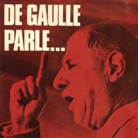 "Charles De Gaulle  ""  Parle  "" - Vinyl Records"