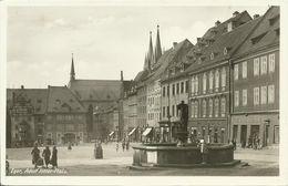 AK Eger Cheb Adolf Hitler-Platz Firmen ~1940 #04 - Sudeten