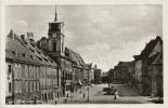Ansichtskarte Eger Cheb Adolf Hitler-Platz Firmen ~1940 #06 - Czech Republic
