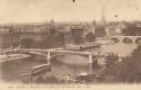 CPA PARIS. - Panorama Sur La Seine, Pris Du Pont Des Arts . - LL N° 700 - Arrondissement: 01
