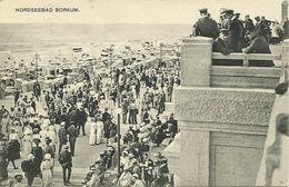 AK Nordseebad Borkum Strandpromenade ~1910 #22 - Borkum