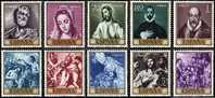 España 1330/1339 ** Pintura. El Greco. 1961 - 1931-Aujourd'hui: II. République - ....Juan Carlos I