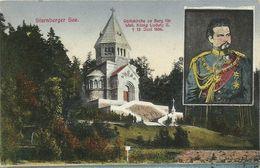AK Berg Starnberg Votivkirche & König Ludwig II. Color ~1910 #02 - Starnberg