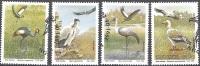 Transkei 1991 Michel 271 - 274 O Cote (2002) 6.00 Euro Oiseaux Cachet Rond - Transkei