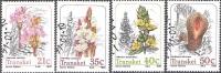 Transkei 1991 Michel 263 - 266 O Cote (2002) 4.00 Euro Plantes Cachet Rond - Transkei