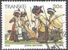 Transkei 1984 Michel 151 O Cote (2002) 0.60 Euro Xhosa Femmes Cachet Rond - Transkei