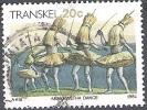 Transkei 1984 Michel 149Y O Cote (2002) 0.60 Euro Xhosa Dance Abakwetha Cachet Rond - Transkei