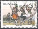 Transkei 1984 Michel 153 O Cote (2002) 2.20 Euro Xhosa Danseuses Cachet Rond - Transkei