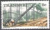 Transkei 1976 Michel 8C O Cote (2002) 0.30 Euro Industrie Forestière - Transkei
