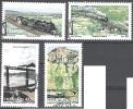 Transkei 1989 Michel 230 - 233 O Cote (2002) 4.00 Euro Trains Cachet Rond - Transkei