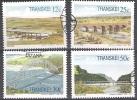 Transkei 1985 Michel 168 - 171 O Cote (2002) 2.60 Euro Ponts Cachet Rond - Transkei