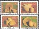 Transkei 1989 Michel 234 - 237 O Cote (2002) 3.50 Euro Vannerie - Transkei