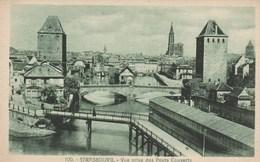 Dép. 67 - Strasbourg. - Vue Prise Des Ponts Couverts. Ed. La Cigogne. N°100 - Strasbourg