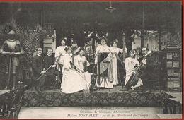 PARIS - Orchestre Hollandais - -Maison Bouvalet -29 Et 31 Bd Du Temple- Cpa écrite 1906_Paypal Sans Frais - Paris (03)