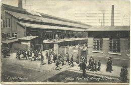 AK Essen Krupp Portier I 12 Uhr Mittag 1908 #44 - Essen