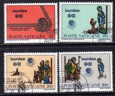 VATICANO 1981 CONGRESSO EUCARISTICO SERIE COMPLETA TIMBRATA - Vaticano (Ciudad Del)