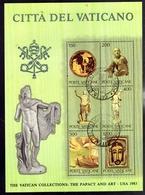 VATICANO 1983 COLLEZIONI VATICANE 3° SERIE COMPLETA  TIMBRATA - Vaticano (Ciudad Del)