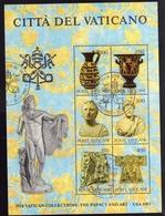 VATICANO 1983 COLLEZIONI VATICANE 1° SERIE COMPLETA  TIMBRATA - Vaticano (Ciudad Del)