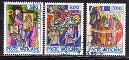 VATICANO 1985 S.METODIO SERIE COMPLETA  USATA USED OBLITERE' - Vaticano (Ciudad Del)