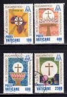 VATICANO 1985 CONGRESSO EUCARISTICO SERIE COMPLETA USED - Vaticano (Ciudad Del)