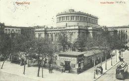 AK Magdeburg Stadttheater Conditorei Bahn 1912 #32 - Magdeburg