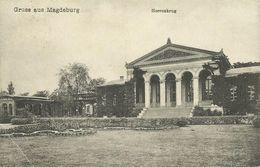 AK Magdeburg Herrenkrug 1913 #35 - Magdeburg