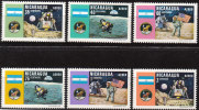 "NICARAGUA 1574-9  ""Erste Bemannte Mondlandung Mit Apollo 11""  MNH / ** / Postfrisch - Nicaragua"