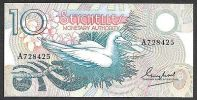 SEYCHELLES 10 RUPEES 1983 P 28 F Vf - Seychelles