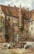 AK München Alter Hof Tuck Oilette Color ~1920 #07 - Tuck, Raphael