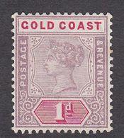 Gold Coast 1898 Q.Victoria 1d  SG27  MH - Gold Coast (...-1957)