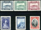 Turkey #676-81 XF Mint Lightly Hinged Set From 1929 - Unused Stamps