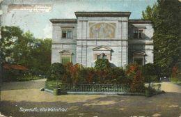 AK Bayreuth Villa Wahnfried Richard Wagner-Zitat Color 1912 #49 - Bayreuth